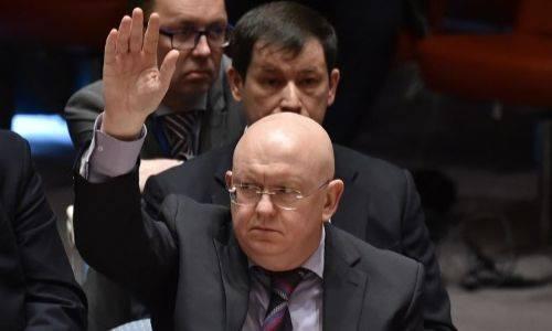 Đại sứ Nga tạiLiên Hợp Quốc Vassily Nebenzia