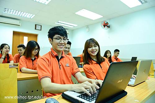 Đại học FPT có cơ sở vật chất hiện đại.