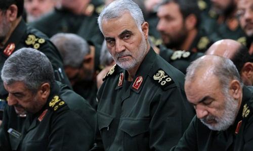 Lãnh đạo lực lượng Quds Qassim Suleimani. Ảnh: Office of the Iranian Presidency.
