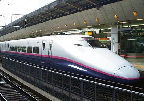 Tàu cao tốc ở Nhật Bản. Ảnh: Japan Railway.
