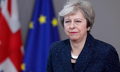 Thủ tướng Anh Theresa May. Ảnh: Times.