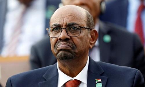 Tổng thống Sudan Omar al-Bashir. Ảnh: AP.
