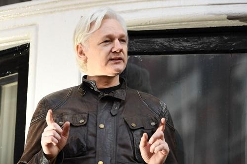 Người sáng lập WikiLeaks Julian Assange. Ảnh: AFP.