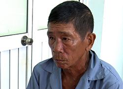 Nguyễn Văn Đúng tại cơ quan điều tra. Ảnh: An Phú