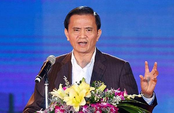 Ông Ngô Văn Tuấn khi còn đương chức Phó chủ tịch UBND tỉnh Thanh Hoá. Ảnh: L.S.