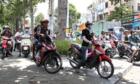 Kẹt xe trầm trá»ng vì vi phạm giao thông không bá» trừng phạt