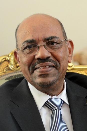 Tổng thống bị lật đổ Omar al-Bashir tại Cairo tháng 9/2012. Ảnh: AFP.