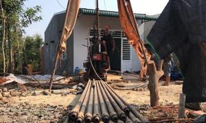 Người dân khoan giếng gần 100m tìm nguồn nước ở Đắk Lắk