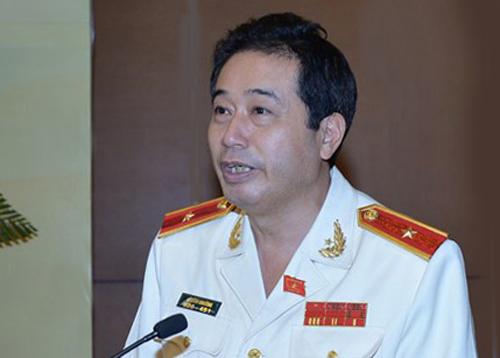 Thiếu tướng Lê Đình Nhường. Ảnh: Hải Ninh