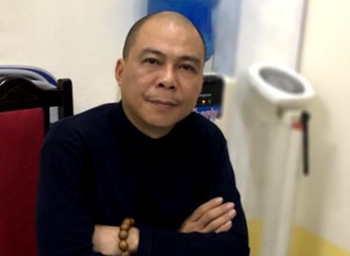 Ông Phạm Nhật Vũ tại cơ quan điều tra. Ảnh: Bộ Công an