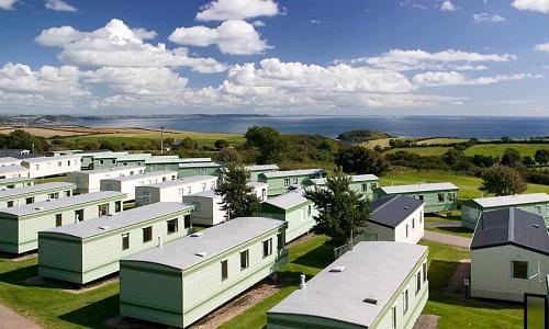 Công viên cắm trại Tencalet ở hạt Cornwall, Anh. Ảnh:Guardian.