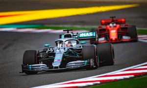Hamilton về nhất ở Grand Prix Trung Quốc