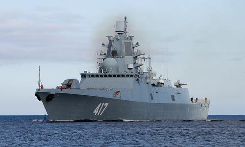 Tàu hộ vệ Đô đốc Gorshkov trong một chuyến ra biển năm 2017. Ảnh: Livejournal.