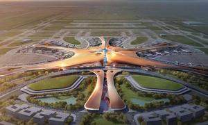 Bên trong sân bay lớn nhất thế giới ở Trung Quốc