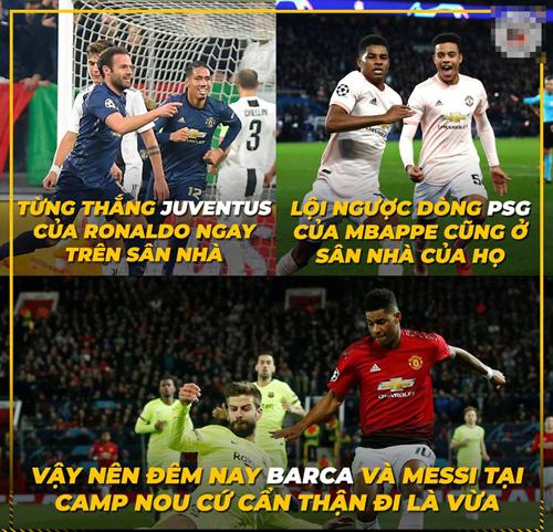 Không đùa với Man Utd được đâu.