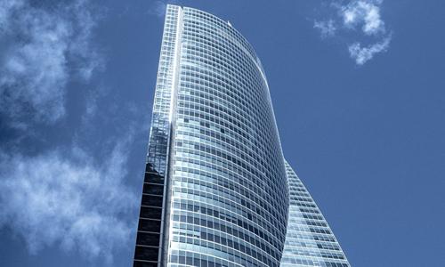 Tòa nhà Torre Espacio ở Madrid, Tây Ban Nha. Ảnh: Sputnik.