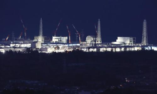 Nhà máy điện hạt nhân Fukushima Daiichi ngày 10/3/2018, 7 năm sau thảm họa. Ảnh: AFP.