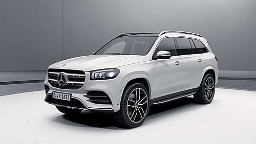 Mercedes GLS thế hệ mới rò rỉ thiết kế trước khi ra mắt chính thức vào 19/4 tới tại Mỹ. Ảnh: Carscoops.