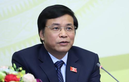 Tổng thư ký Quốc hội Nguyễn Hạnh Phúc. Ảnh: Hoàng Phong
