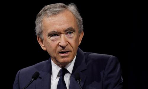 Tỷ phú người Pháp Bernard Arnault. Ảnh: Reuters.