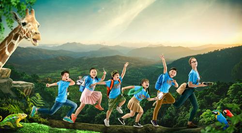 Chương trình tiếng Anh hè So Wow This Summer tại Apollo English Việt Nam giúp trẻ khám phá thế giới tự nhiên.