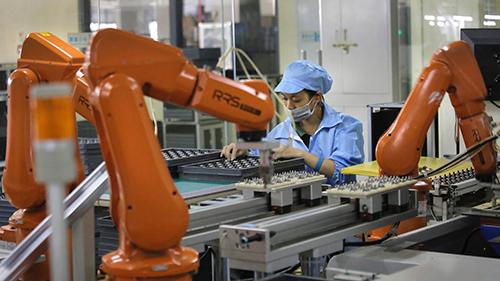 Robot dần thay thế con người trong lao động, sản xuấtNguồn ảnh: Toyota Việt Nam