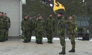 Thụy Điển tái triển khai quân lên đảo tiền tiêu