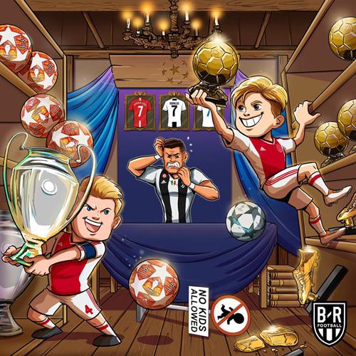 Chỉ trong một trận đấu, Ajax đã lấy đi gần như mọi thứ của Ronaldo ở mùa giải này.