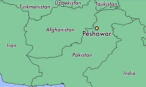 Vị trí thành phố Peshawar. Đồ họa: World Atlas.