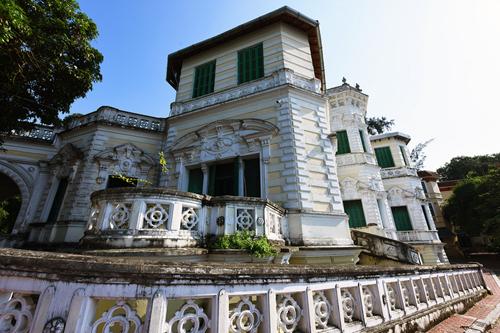 Thư viện của trường THPT Chu Văn An, Hà Nội, ngôi trường được xây dựng hơn 100 năm trước. Ảnh: Giang Huy.