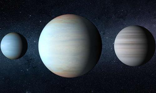 Kepler-47 là hệ sao nhị phân duy nhất được biết đến có nhiều hành tinh. Ảnh: UPI.