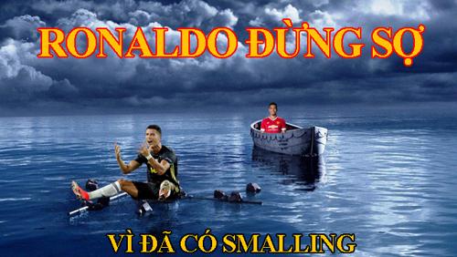 Ronaldo cũng được an ủi phần nào khi có đội bóng cũ đồng hành.