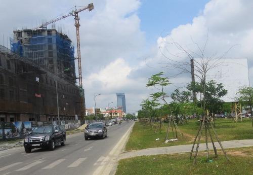 Khu vực đường Tố Hữu về khu đô thi mới A