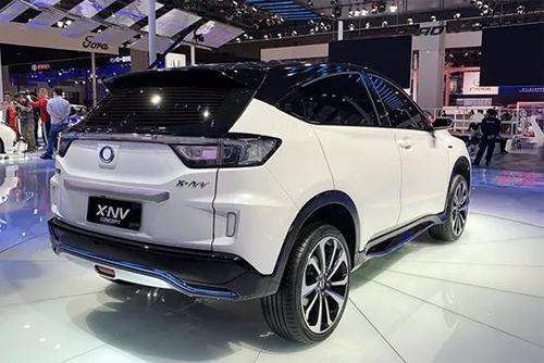 X-NV phát triển từ HR-V và sẽ là phiên bản động cơ điện dành riêng cho thị trường Trung Quốc. Ảnh: Sohu