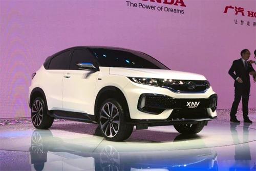 Honda X-NV ra mắt tại triển lãm ôtô Thượng Hải. Ảnh: PC Auto