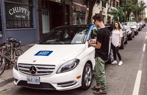 Share Now, hay Car2Go, phải dừng hoạt động tạm thời do bị mất cả trăm chiếc xe cùng lúc.