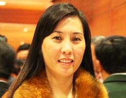 Bà Bùi Thị Quỳnh Vân. Ảnh: Phương Lý.
