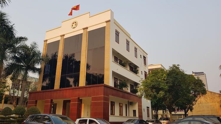 Trụ sở thanh tra tỉnh Thanh Hóa. Ảnh: Lê Hoàng.