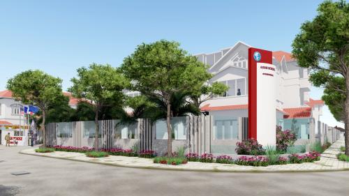 Tọa lạc tại khu biệt thự cao cấp Thảo Điền - quận 2, Nguyễn Văn Hưởng - Thảo Điền Campus rộng hơn 1ha, gồm 14 biệt thự được thiết kế và xây dựng theo tiêu chuẩn châu Âu, trong đó khuôn viên dành cho hoạt động ngoài trời và thể thao rộng gần 6.000 m2.