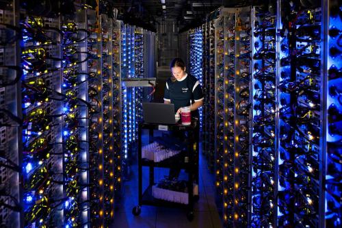 Trung tâm lưu trữ dữ liệu Google.