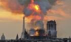 Vụ cháy Nhà thờ Đức Bà Paris có thể do chập điện