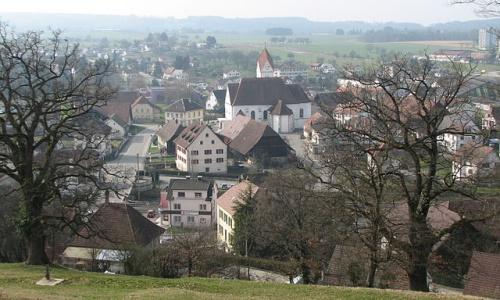 Quang cảnh Boncourt ở Thuỵ Sĩ. Ảnh: Local.
