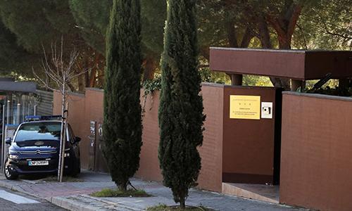 Đại sứ quán Triều Tiên tại Madrid, Tây Ban Nha. Ảnh: Reuters.