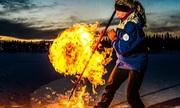 Quá trình hình thành những hồ băng bốc cháy