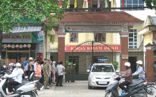 Bệnh viện nơi xảy ra vụ việc. Ảnh: Nguyễn Hải.