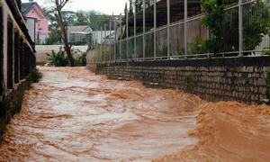 Đà Lạt ngập nặng sau trận mưa lớn