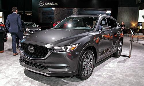 Mazda CX-5 máy dầu ra mắt tại Mỹ. Ảnh: Moto1