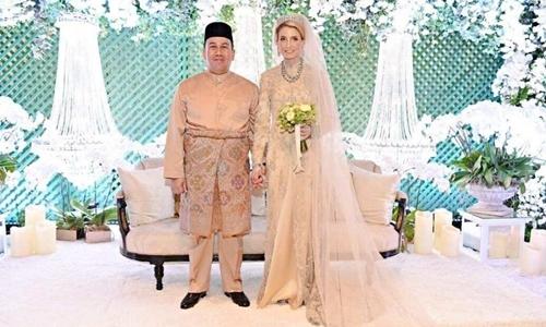 Hôn lễ của Thái tử Malaysia với cô gái Thụy Điển