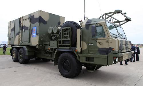 Xe chỉ huy 50K6E của tổ hợp S-350. Ảnh: Vitaly Kuzmin.