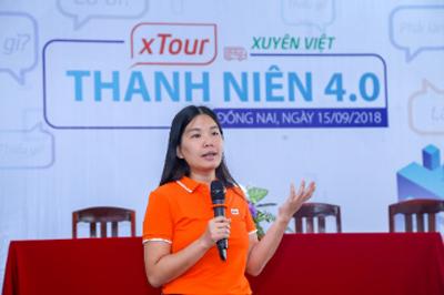 Chị Lê Minh Đức  Giám đốc Thương mại Đại họctrực tuyến FUNiX.